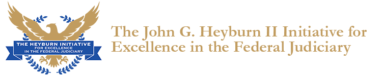 The John G. Heyburn II Initiative